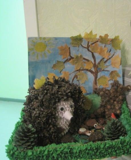 Для детей с ОВЗ. Конспект коллективно-творческое дело «Ёжик в тумане».