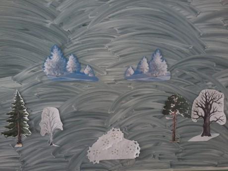 Конспект занятия по математике в средней группе «Прогулка в зимний лес»