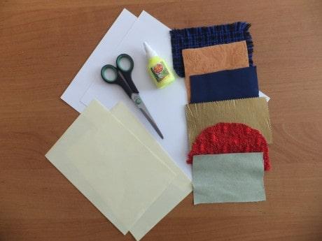 Мастер – класс по изготовлению развивающего дидактического пособия «Галерея тканей»