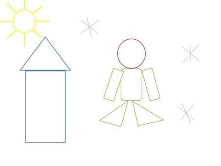 Конспект открытого занятия кружка «Игралочка».  Средний дошкольный возраст.