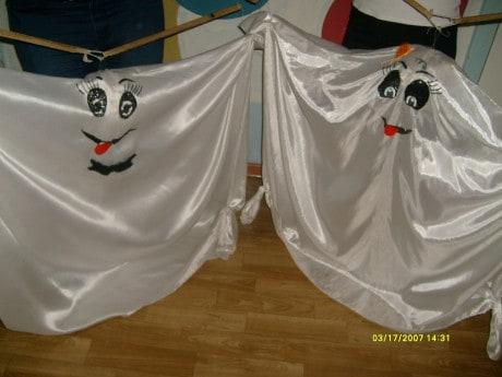 Танцевальная композиция с куклами- марионетками