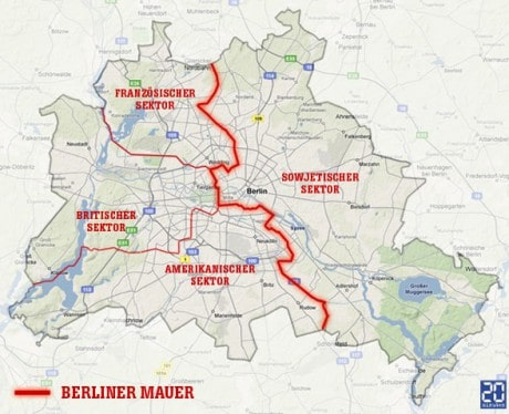 Внеклассное мероприятие на тему «Берлинская стена: одно государство на две части…»