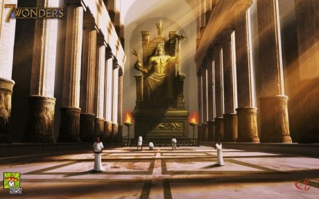Описание: http://unwallpapers.com/wp-content/uploads/2015/01/Statue-Of-Zeus-At-Olympia-Wallpaper.jpg