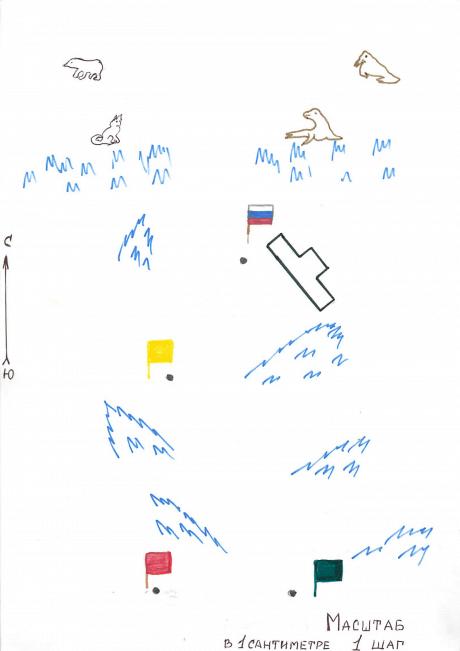 Конспект «Игра – путешествие в Артику». Экспериментально-образовательная деятельность, Подготовительная группа.