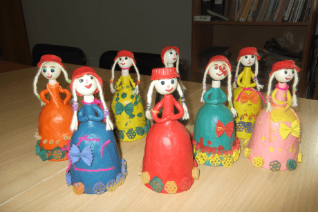 Конспект непосредственно-образовательной деятельности по художественно-эстетическому развитию «Красная шапочка»