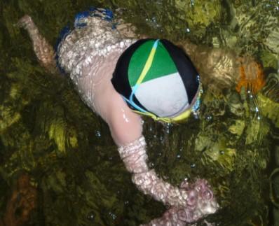 Консультация для родителей «Первые уроки школы плавания. Какие упражнения нужно выполнять в воде…»