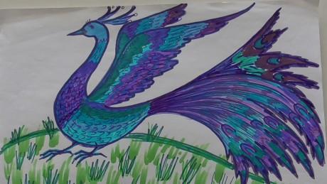 Конспект НОД по художественно-эстетическому развитию в подготовительной группе на тему «Сказочные птицы»