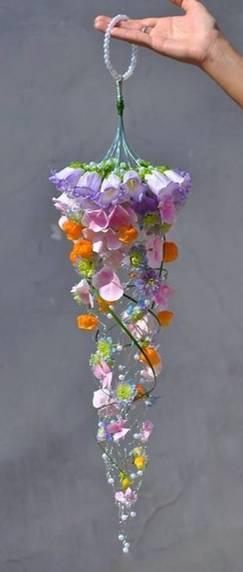 букет (11) Кружок - флористика, панно.