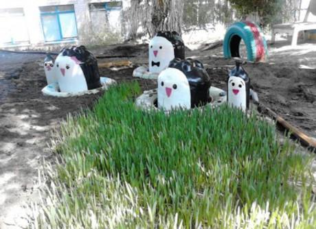 Оформление участка в детском саду «Путешествие со сказочными героями на прогулке»