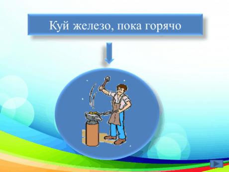 2-5 класс. Развивающая игра «Профессии в пословицах и поговорках» (презентация).