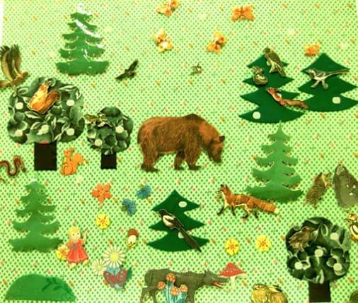 Конспект ООД по экологии в 1 младшей группе «Какие животные живут в лесу»
