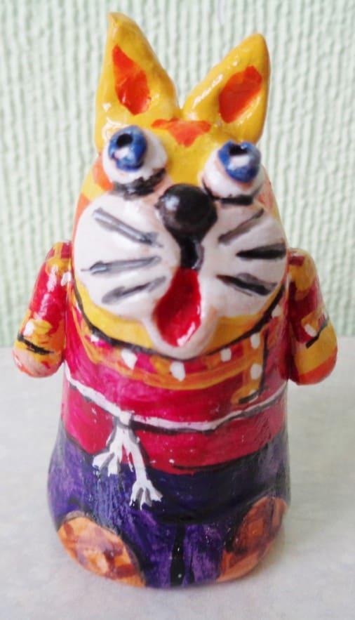 Пальчиковые куклы из керамики