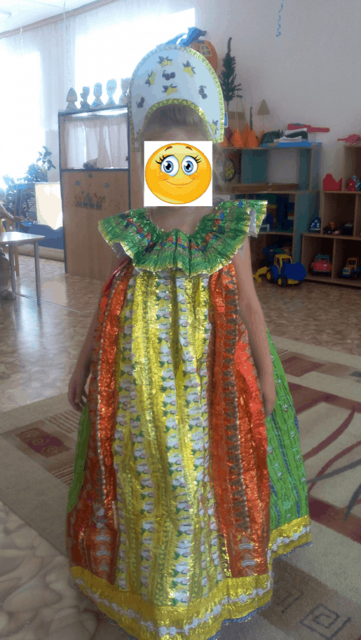 Экологический мастер-класс «Экологический костюм»