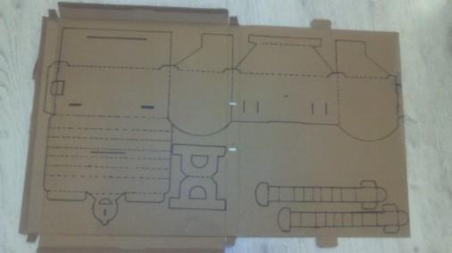 Далее делаем чертеж нашего сундучка. Переносим его на наш картон. И аккуратно вырезаем. Пунктиры – это линии сгиба.