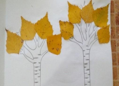 Березовые листочки вернулись на березу