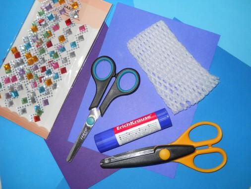 Мастер-класс по аппликации из бросового материала для детей 5-7 лет «Новогодняя елочка»