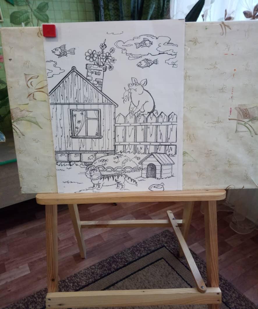 Посмотрите внимательно, найдите то, что перепутал художник. «Небылицы»