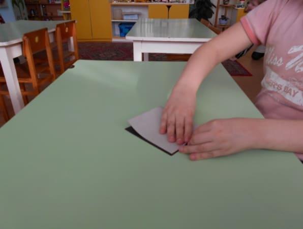 Пооперационная карта изготовления поделки в детском саду «Гармошка»