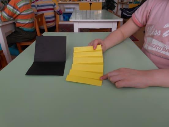 Пооперационная карта изготовления поделки «Гармошка», конструирование в старшей группе картотека.