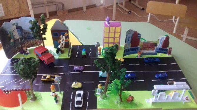 Развитие у дошкольников конструктивных навыков посредством изготовления макетов